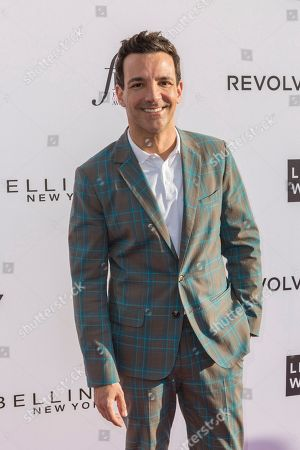 George Kotsiopoulos arrives at the Third Annual Fashion Los Angeles Awards at the Sunset Tower Hotel, in West Hollywood, Calif
