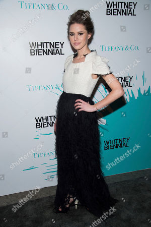 Alessandra Balazs attends the Tiffany & Co. 2017 Whitney Biennial at the Whitney Museum of American Art, in New York
