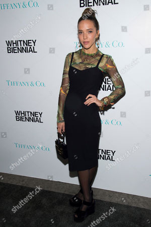 Zoe Buckman attends the Tiffany & Co. 2017 Whitney Biennial at the Whitney Museum of American Art, in New York