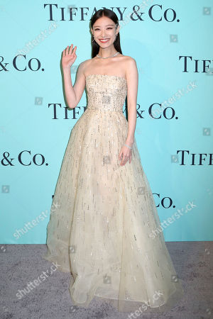 Ni Ni attends Tiffany & Co. 2017 Blue Book Collection Celebration at St. Ann's Warehouse, in New York