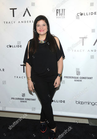 Alex Guarnaschelli celebrates the opening of the Tracy Anderson 59th Street studio, in New York