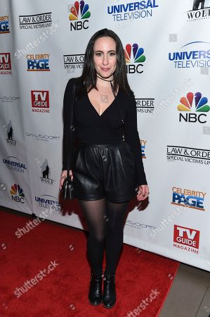 """Singer Madeleine Dopico attends TV Guide Magazine's """"Law & Order: Special Victims Unit"""" 400th episode celebration at the Gansevoort Park Avenue, in New York"""