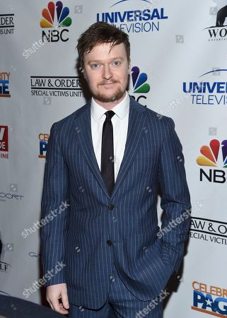 """Actor Steven Boyer attends TV Guide Magazine's """"Law & Order: Special Victims Unit"""" 400th episode celebration at the Gansevoort Park Avenue, in New York"""