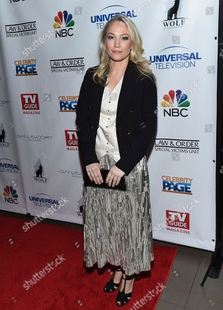 """Sarah Wynter attends TV Guide Magazine's """"Law & Order: Special Victims Unit"""" 400th episode celebration at the Gansevoort Park Avenue, in New York"""