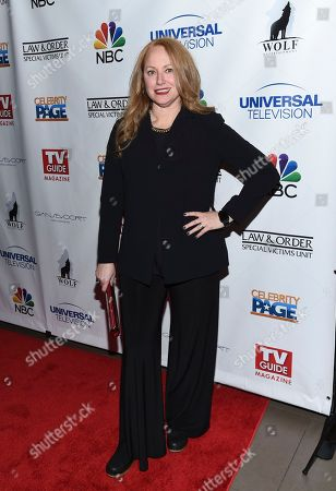 """Actress Jenna Stern attends TV Guide Magazine's """"Law & Order: Special Victims Unit"""" 400th episode celebration at the Gansevoort Park Avenue, in New York"""