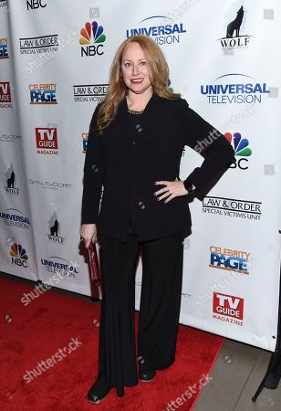 """Stock Photo of Actress Jenna Stern attends TV Guide Magazine's """"Law & Order: Special Victims Unit"""" 400th episode celebration at the Gansevoort Park Avenue, in New York"""