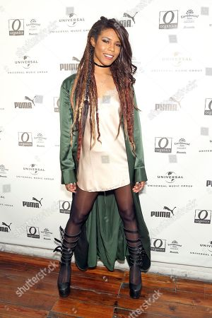 Stock Photo of Troi Irons attends UMG's Music is Universal Artist Lounge Presented by O Organics and PUMA at SXSW on in Austin, Texas