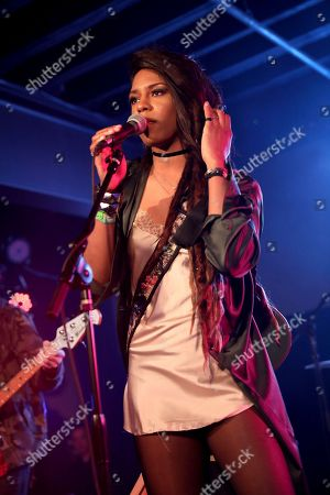 Stock Image of Troi Irons performs during UMG's Music is Universal Showcase Presented by O Organics and PUMA at SXSW on in Austin, Texas