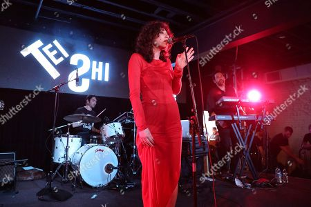 Stock Photo of Tei Shi performs during UMG's Music is Universal Showcase Presented by O Organics and PUMA at SXSW on in Austin, Texas
