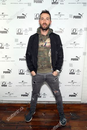 Stock Image of Josh Ostrander of Mondo Cozmo attends UMG's Music is Universal Artist Lounge Presented by O Organics and PUMA at SXSW on in Austin, Texas