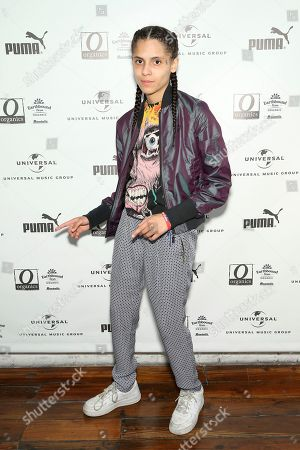 070 Shake attends UMG's Music is Universal Artist Lounge Presented by O Organics and PUMA at SXSW on in Austin, Texas