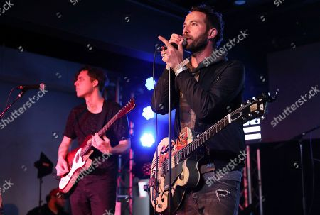 Stock Photo of Josh Ostrander of Mondo Cozmo performs during UMG's Music is Universal Showcase Presented by O Organics and PUMA at SXSW on in Austin, Texas