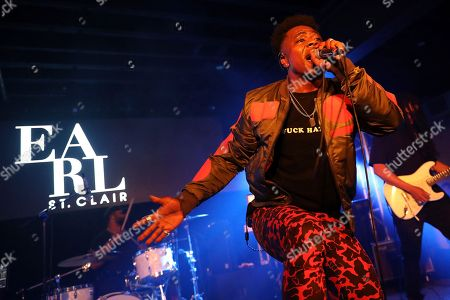 Earl St. Clair performs during UMG's Music is Universal Showcase Presented by O Organics and PUMA at SXSW on in Austin, Texas
