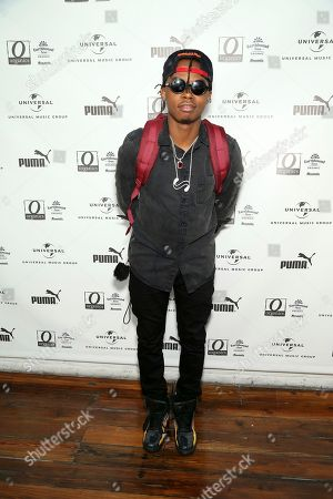 Trap Beckham attends UMG's Music is Universal Artist Lounge Presented by O Organics and PUMA at SXSW on in Austin, Texas