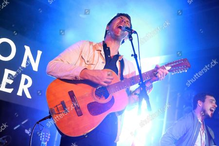 Hamilton Leithauser performs during UMG's Music is Universal Showcase Presented by O Organics and PUMA at SXSW on in Austin, Texas