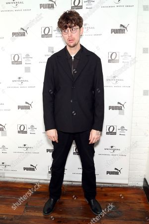 Albin Lee Meldau attends UMG's Music is Universal Artist Lounge Presented by O Organics and PUMA at SXSW on in Austin, Texas