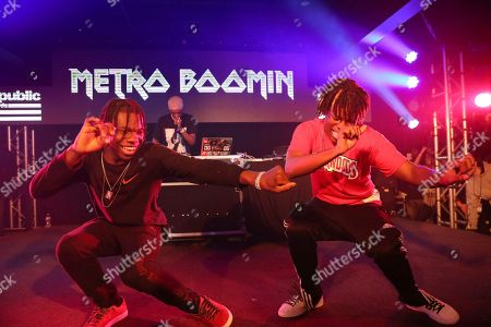Metro Boomin performs during UMG's Music is Universal Showcase Presented by O Organics and PUMA at SXSW on in Austin, Texas