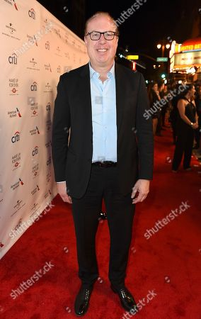 Stock Picture of Steve Bartels, Def Jam CEO, arrives at Universal Music Group's 2017 Grammy After Party at The Theatre at Ace Hotel, in Los Angeles