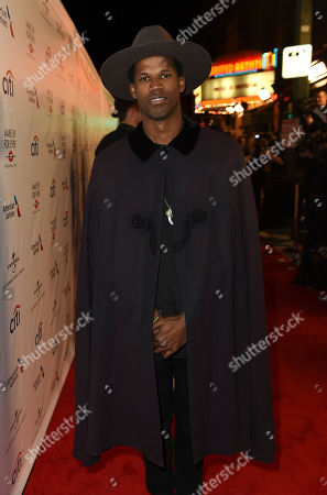 Stock fotografie na téma Jimi Cravity arrives at Universal Music Group's 2017 Grammy After Party at The Theatre at Ace Hotel, in Los Angeles