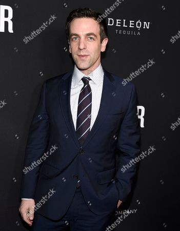"Stock Photo of B. J. Novak arrives at the U.S. premiere of ""The Founder"" at the Cinerama Dome at ArcLight Hollywood, in Los Angeles"