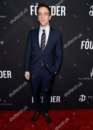 "Editorial image of US Premiere of ""The Founder"" - Arrivals, Los Angeles, USA - 11 Jan 2017"