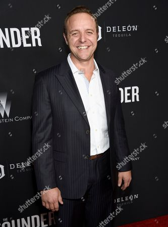 "Griff Furst arrives at the U.S. premiere of ""The Founder"" at the Cinerama Dome at ArcLight Hollywood, in Los Angeles"