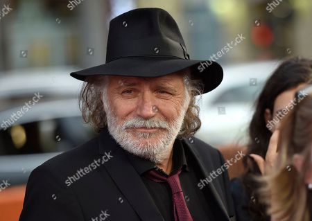"""Rade Serbedzija arrives at the U.S. premiere of """"The Promise"""" at the TCL Chinese Theatre, in Los Angeles"""