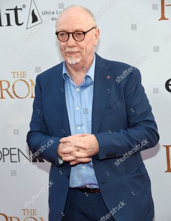 """Director Terry George arrives at the U.S. premiere of """"The Promise"""" at the TCL Chinese Theatre, in Los Angeles"""