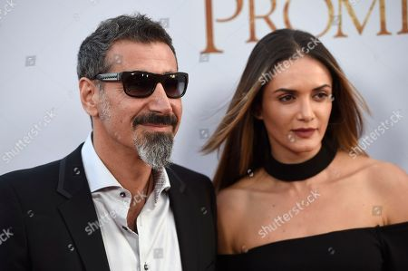 "Editorial photo of US Premiere of ""The Promise"" - Arrivals, Los Angeles, USA - 12 Apr 2017"