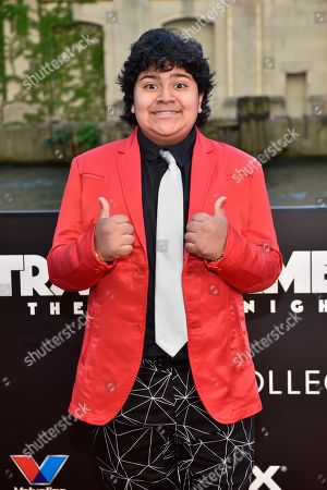 "Stock Image of Juliocesar Chavez seen at the US Premiere of ""Transformers: The Last Knight"" at the Civic Opera House, in Chicago"