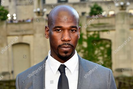 """Stock Photo of Remi Adeleke seen at the US Premiere of """"Transformers: The Last Knight"""" at the Civic Opera House, in Chicago"""