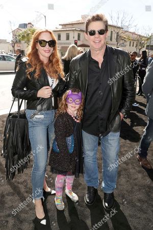 "Stock Picture of Kerry Garman, Olivia Garman and Ralph Garman seen at Warner Bros. Pictures Presents the World Premiere of ""The Lego Batman Movie"" at Regency Village Theatre, in Los Angeles"