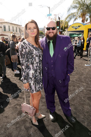 """Editorial photo of Warner Bros. Pictures Presents the World Premiere of """"The Lego Batman Movie"""", Los Angeles, USA - 4 Feb 2017"""