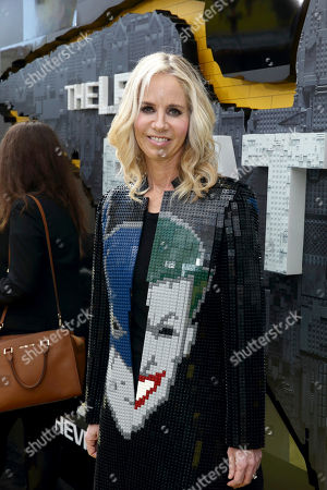"""Diane Nelson, President of DC Entertainment and President of Warner Bros. Consumer Products, seen at Warner Bros. Pictures Presents the World Premiere of """"The Lego Batman Movie"""" at Regency Village Theatre, in Los Angeles"""