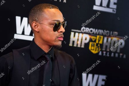 "Rapper Shad Moss, aka Bow Wow, attends WE TV's ""Growing Up Hip Hop Atlanta"" premiere screening at iPics Theaters, in New York"