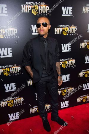 "Rapper Shad Moss, aka c, attends WE TV's ""Growing Up Hip Hop Atlanta"" premiere screening at iPics Theaters, in New York"