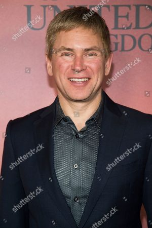 "Pat Kiernan attends the world premiere of Fox Searchlight's ""A United Kingdom"" at the Paris Theatre, in New York"