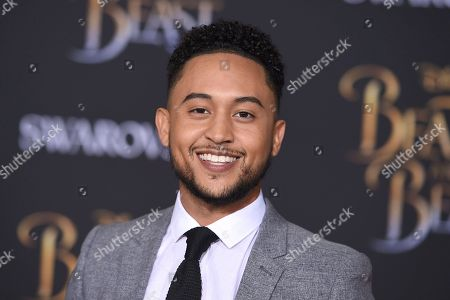 "Tahj Mowry arrives at the world premiere of ""Beauty and the Beast"" at the El Capitan Theatre, in Los Angeles"