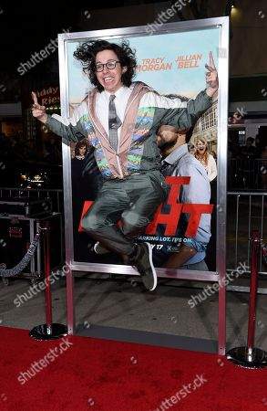 """Bill Kottkamp, a cast member in """"Fist Fight,"""" poses at the premiere of the film """"Fist Fight"""", in Los Angeles"""