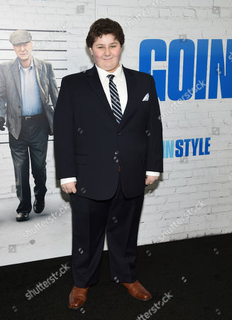 "Jeremy Shinder attends the world premiere of ""Going in Style"" at the SVA Theatre, in New York"