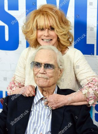 """Actress Ann-Margret and husband Roger Smith attend the world premiere of """"Going in Style"""" at the SVA Theatre, in New York"""