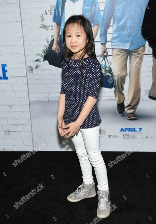"Stock Photo of Annabelle Chow attends the world premiere of ""Going in Style"" at the SVA Theatre, in New York"