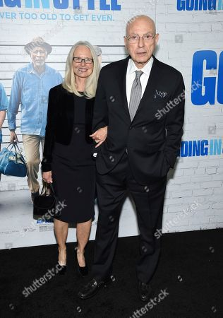 """Actor Alan Arkin and wife Suzanne Newlander Arkin attend the world premiere of """"Going in Style"""" at the SVA Theatre, in New York"""