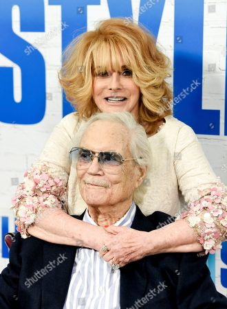 """Actress Ann-Margret and husband Roger Smith attends the world premiere of """"Going in Style"""" at the SVA Theatre, in New York"""
