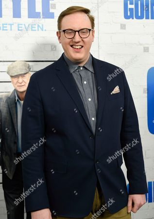 """Stock Image of Matt Bellassai attends the world premiere of """"Going in Style"""" at the SVA Theatre, in New York"""