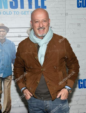 "Stock Picture of Domenico Vacca attends the world premiere of ""Going in Style"" at the SVA Theatre, in New York"