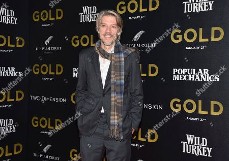 """Director Stephen Gaghan attends the world premiere of """"Gold"""" at AMC Loews Lincoln Square, in New York"""