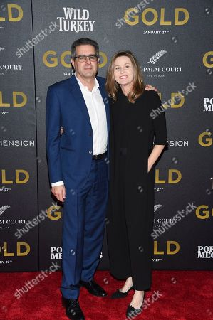 """Editorial picture of World Premiere of """"Gold"""", New York, USA - 17 Jan 2017"""