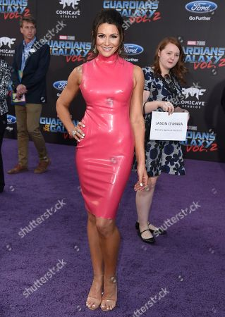 "Cerina Vincent arrives at the world premiere of ""Guardians of the Galaxy Vol. 2"" at the Dolby Theatre, in Los Angeles"