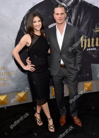"Stock Picture of Tory Tunnell, left, and Joby Harold arrive at the world premiere of ""King Arthur: Legend of the Sword"" at the TCL Chinese Theatre, in Los Angeles"